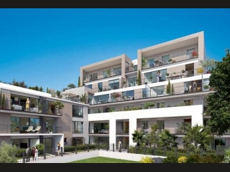New luxury front see apartments in Antibes