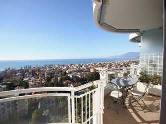 Apartment for rent in Bordighera