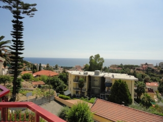 Penthouse sea view for sale in Sanremo