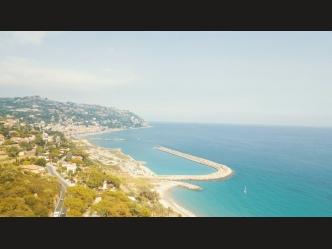 Bordighera seafront villa for sale