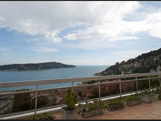 Luxury apartment in Villefranche sur Mer