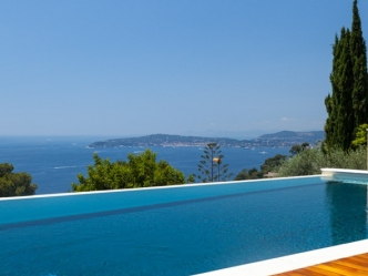 Fantastic sea view villa in Cap d'Ail