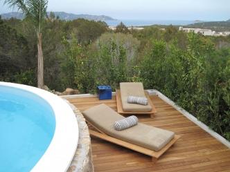 Villas with fantastic sea view in San Teodoro