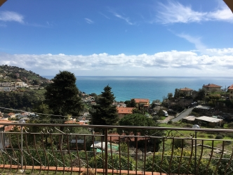 Ospedaletti Villa Sea View For Sale