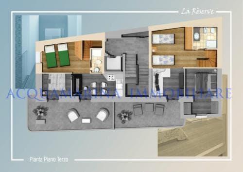 VILLEFRANCHE SUR MER apartment sale<br />3/4