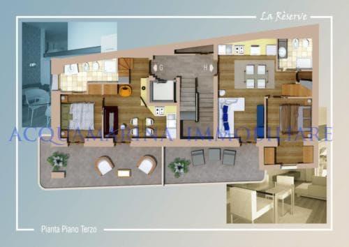 VILLEFRANCHE SUR MER apartment sale<br />4/4