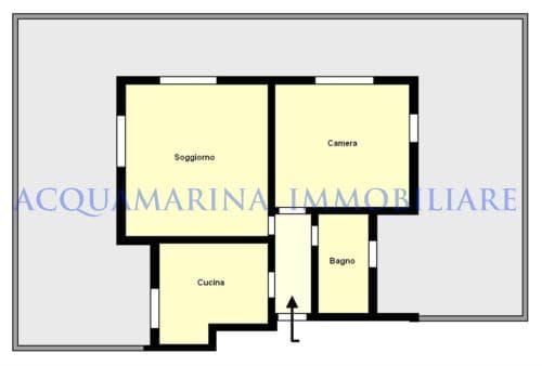 Bordighera Appartment For Sale<br />7/8