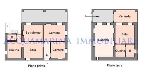 San Biagio vendita casa bifamiliare<br />4/4