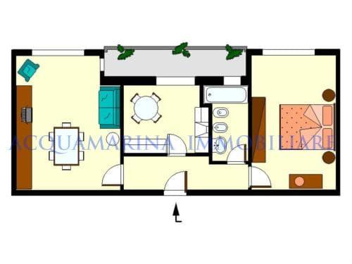 Bordighera apartment for sale<br />3/10