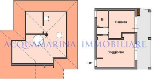 Vallebona vendita appartamento vista mare<br />8/11
