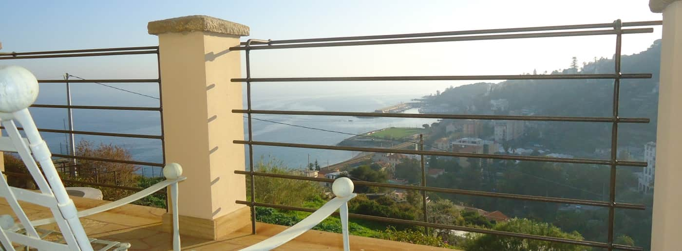 Bordighera Villa For Sale Sea View