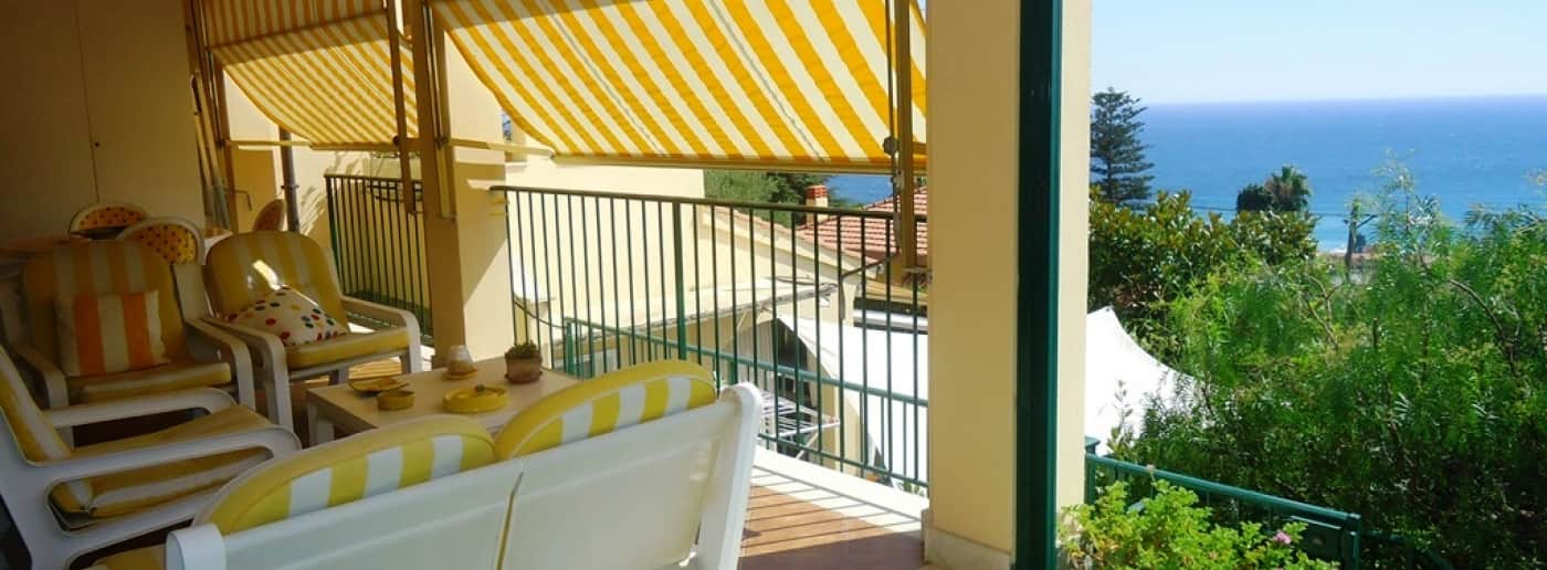 Bordighera appartement vue mer en vente
