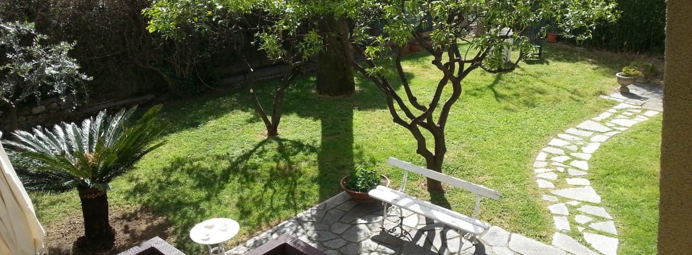 Bordighera Apartment With Garden For Sale