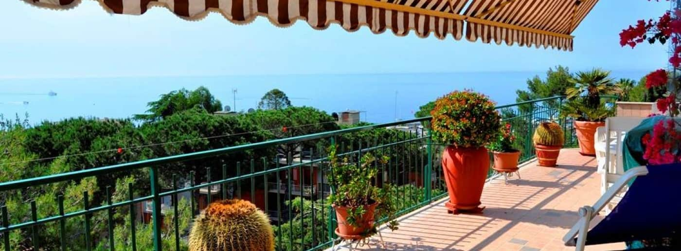 Sanremo sea view PENTHOUSE for sale