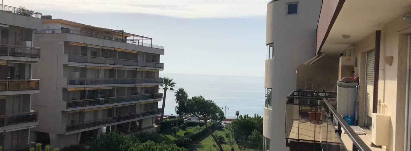 Квартира в Вентимилье с видом на море