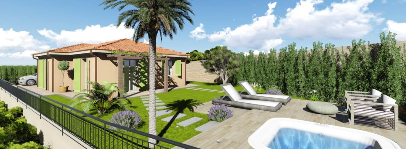 Vallecrosia, villa seaview for sale