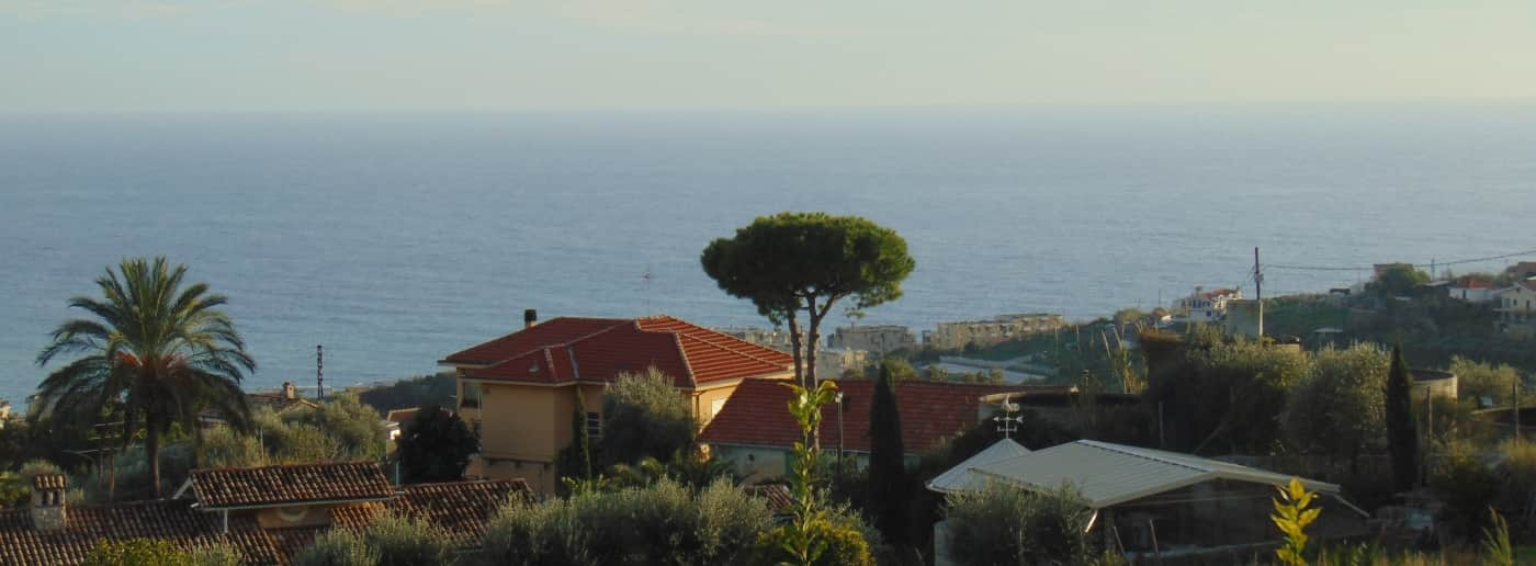 Sanremo sale independent house sea view