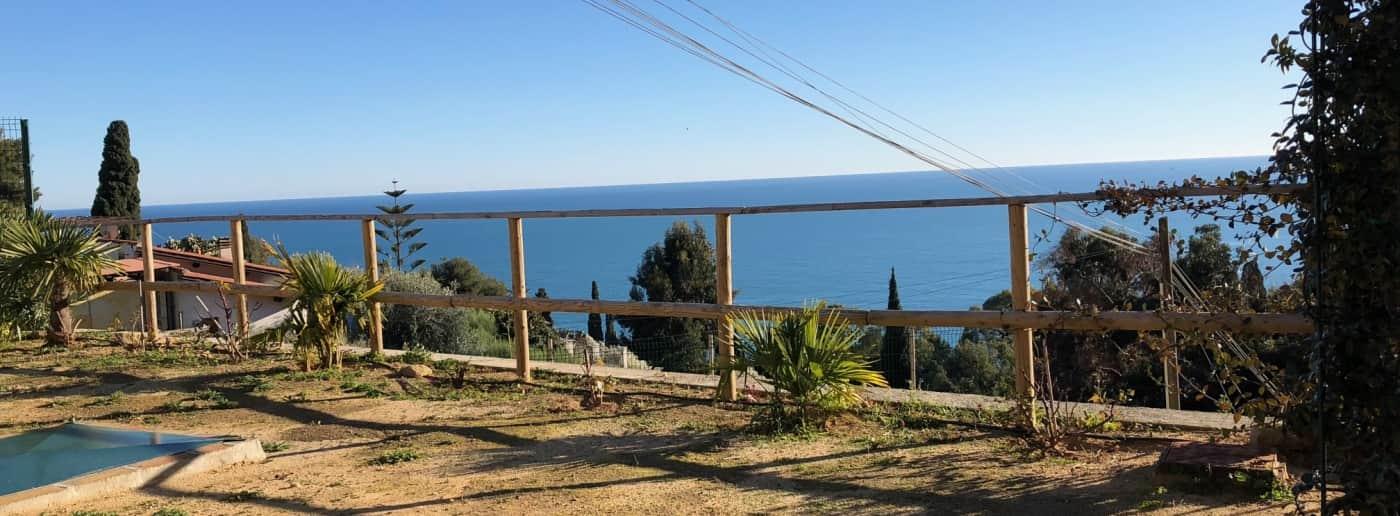Bordighera villa sea view for sale