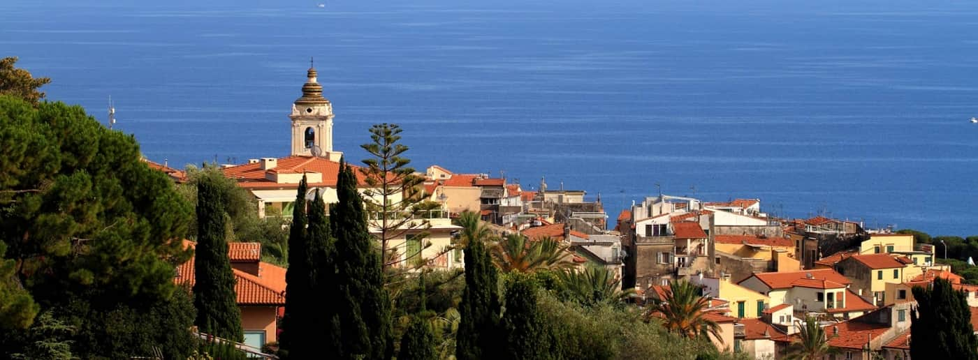 Bordighera sea view villa for sale