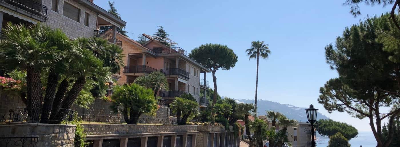 Квартира с видом на море в Оспедалетти