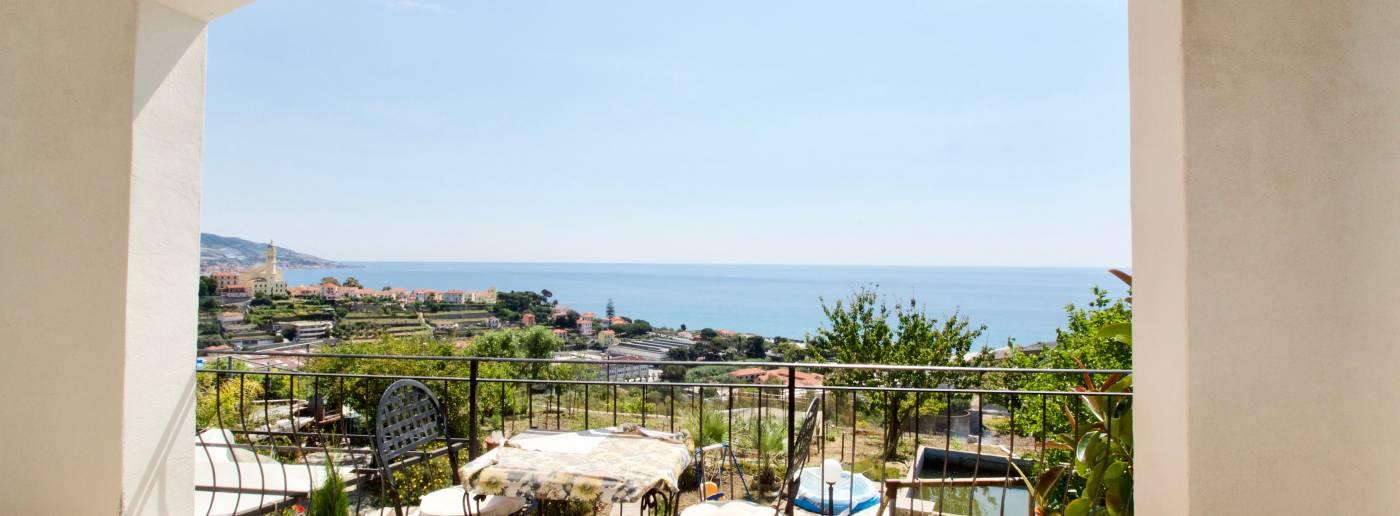 Sea View Villa for Sale in Sanremo