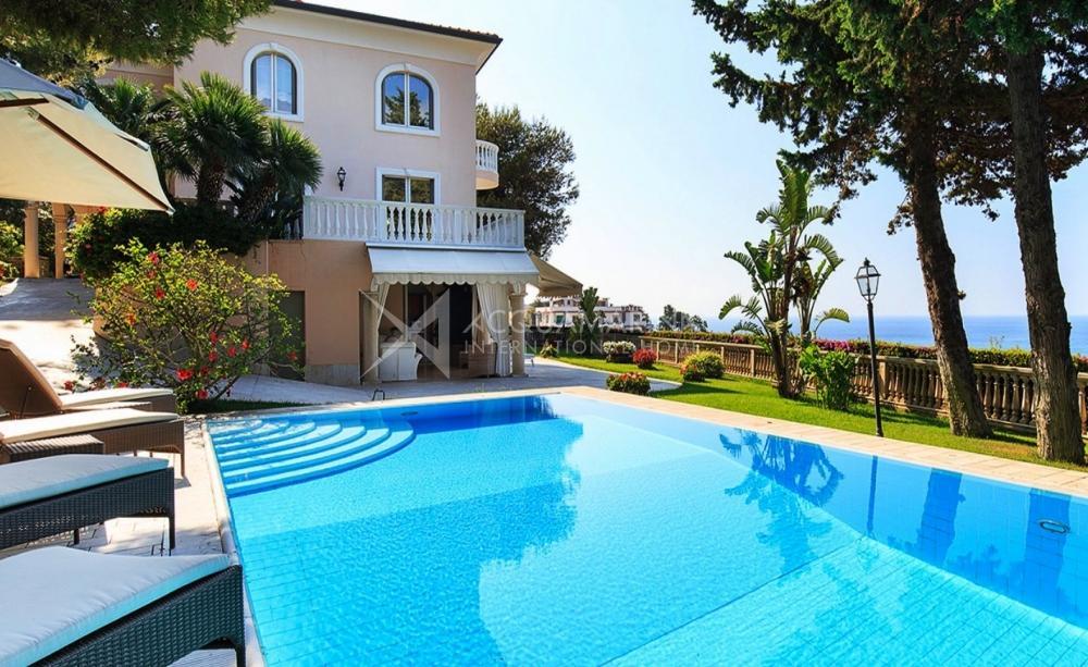Sanremo villa vista mare in vendita, villa vista mare in vendita a Sanremo<br />1/17
