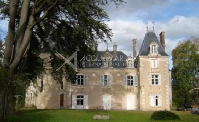 Lussac-les-Églises Chateau / Mansion For Sale<br />1/5